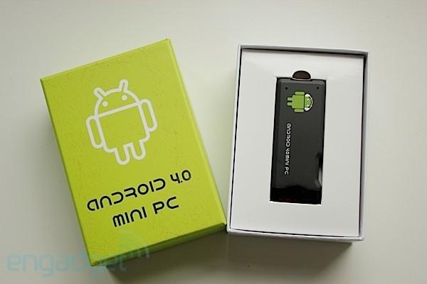 mini PC Android - caja