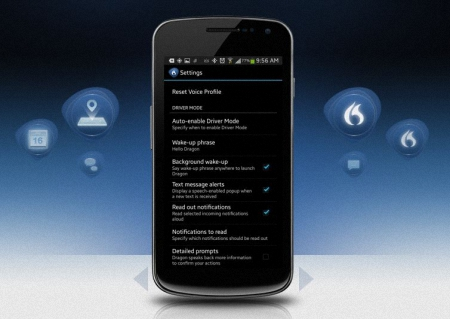 Dragon Mobile Assistant para Android