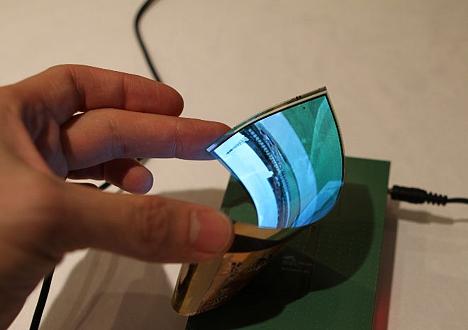 pantalla flexibles de LG G2 Flex