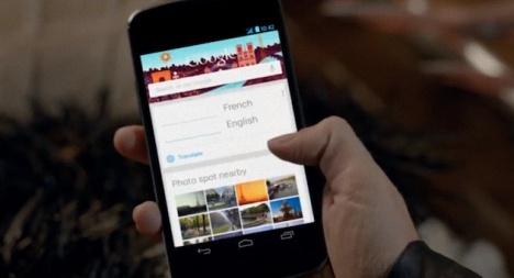 Google Search en Android