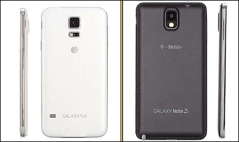 01 Comparativa entre Galaxy S5 y Note 3