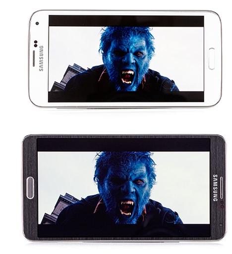 02 Comparativa entre Galaxy S5 y Note 3