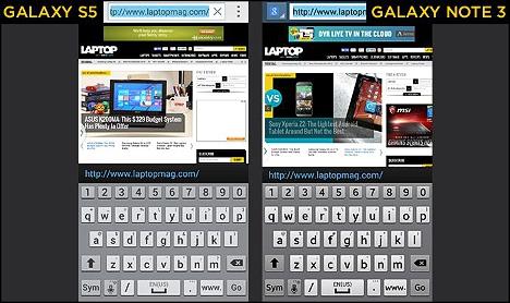 05 Comparativa entre Galaxy S5 y Note 3
