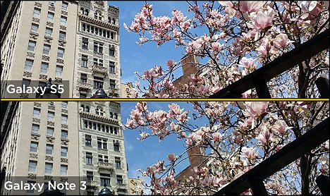 07 Comparativa entre Galaxy S5 y Note 3