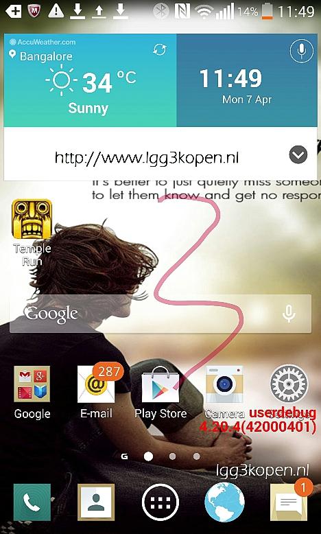 LG G3 en Mayo