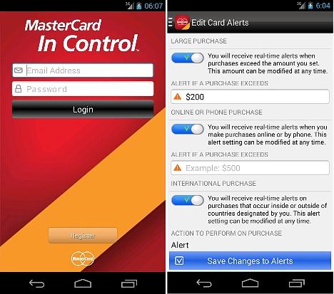 MasterCard para Android