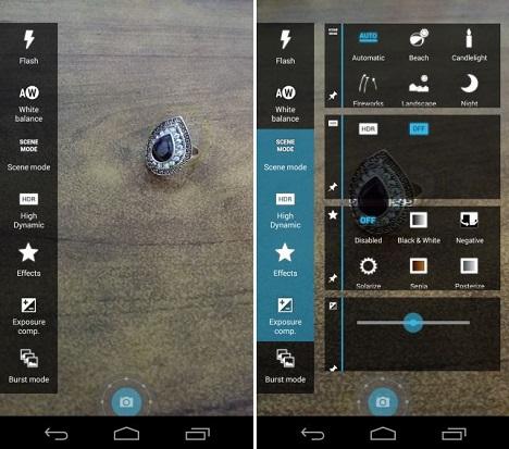 activar macro en cámaras de dispositivos Android