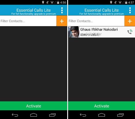 aplicación Android gratuita para llamadas importantes