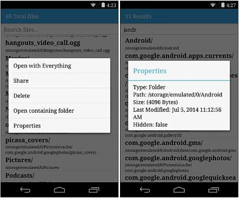buscar archivos en el telefono móvil Android 01