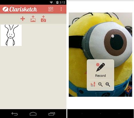 dibujar para niños en Android