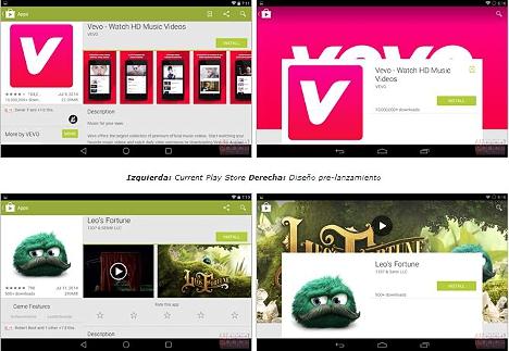 nuevo diseño Google Play Store 01
