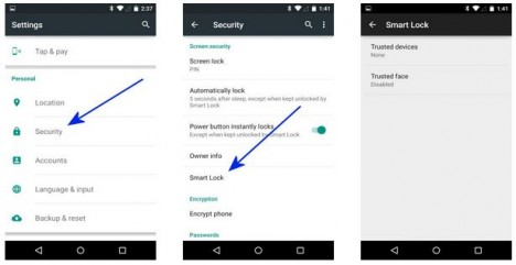 Smart Lock en Lollipop Android 5.0