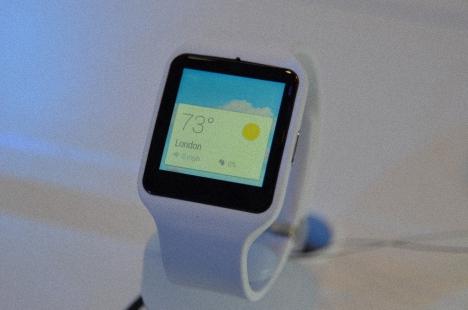 Sony SmartWatch 3 en Google Play Store