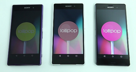 Lollipop Android 5.0 en Xperia Z3