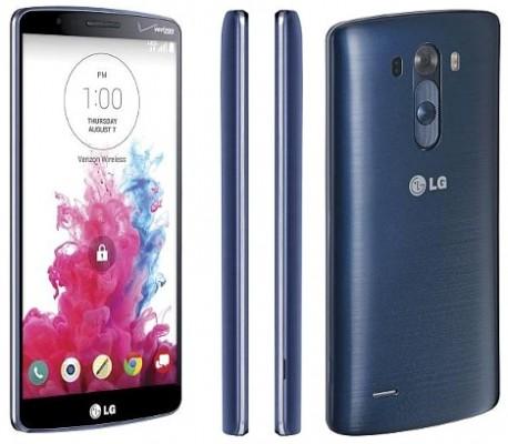 vistas del LG G3