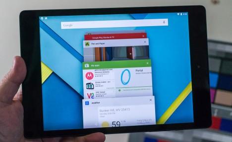 Falla en aplicaciones del Nexus 9