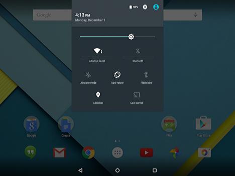 Fallo del WiFi en el Nexus 9
