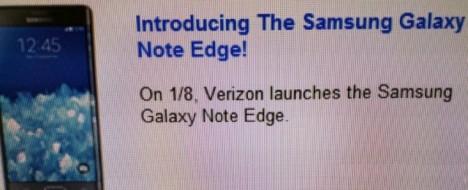 Verizon vende al Galaxy NOte Edge