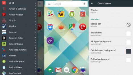 Descarga Action Launcher desde Play Store