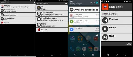 Hacer más grandes y legibles las Notificaciones en Android