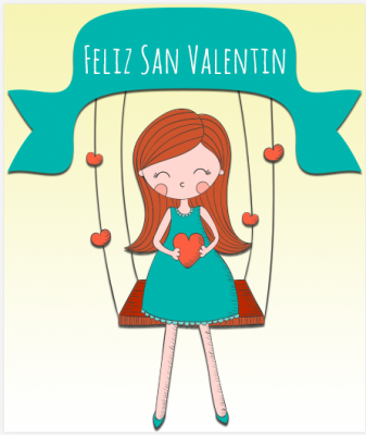tarjetas virtuales en San Valentin