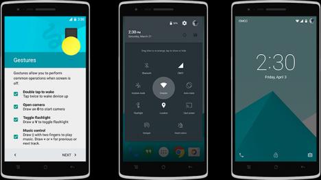 Funciones OxygenOS para OnePlus One