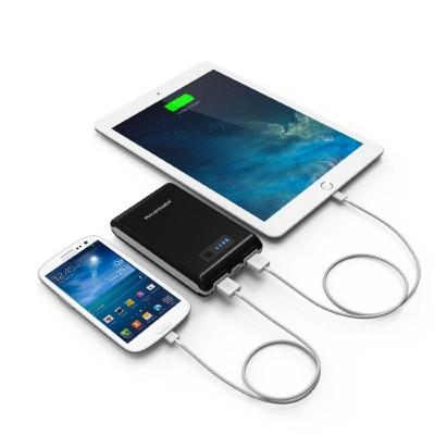 2 puertos USB para cargar energía de dispositivos móviles