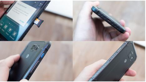 Puertos y Botones en el Samsung Galaxy S6 Active