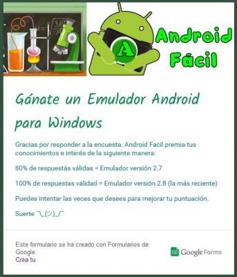 Participa por el mejor Emulador Android