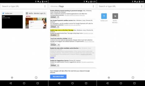 Cómo configurar Chrome para Android