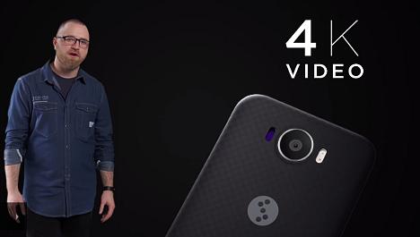 Grabar video a 4 K con la cámara fotográfica posterior