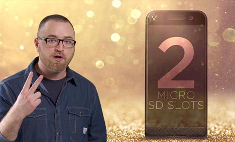 Teléfono móvil Android con 2 ranuras microSD