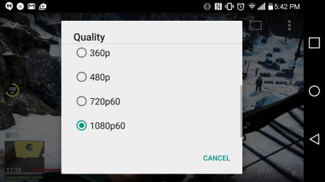 YouTube para Android ya reproduce videos de 60 fps