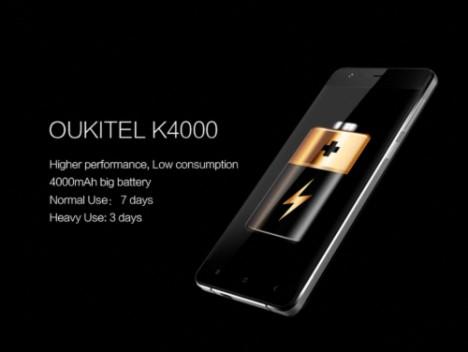 OUKITEL K4000 Android