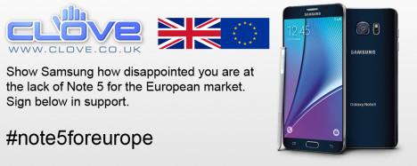 Versión europea Samsung Galaxy Note 5