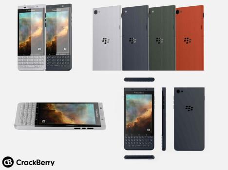 Renders del posible BlackBerry Vienna