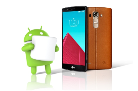 LG G4 con MarshMallow Android 6.0