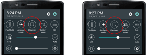 LG G4 y su QMemo plus