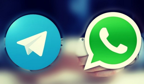 WhatsApp Messenger versus Telegram