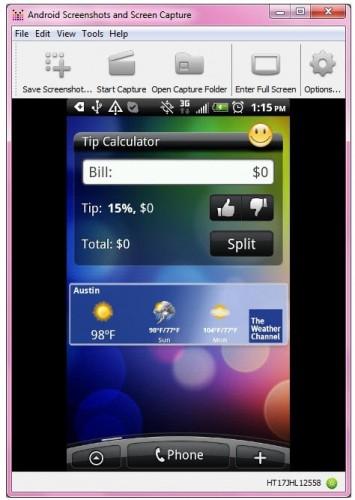 Clonar la pantalla Android