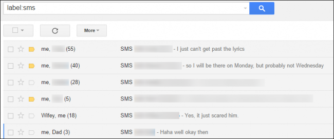 Backup de Mensajes SMS Android