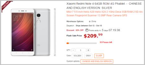 Xiaomi Redmi Note 4 Halloweend Android