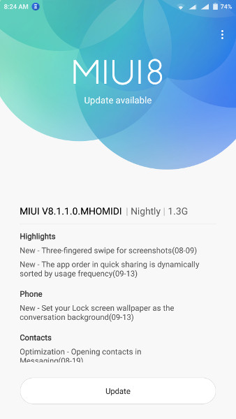 Redmi Note 3 MarshMallow