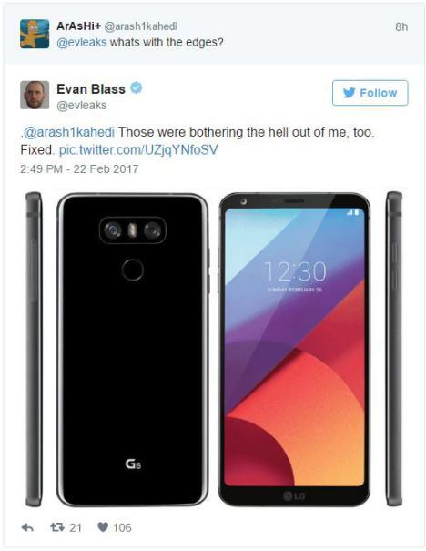 LG G6 Evan