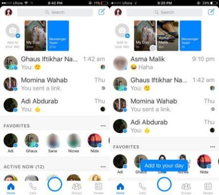 Día Messenger en Android