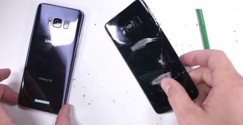 prueba de resistencia Samsung Galaxy S8