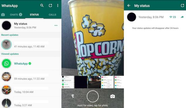 Como crear Estados de WhatsApp
