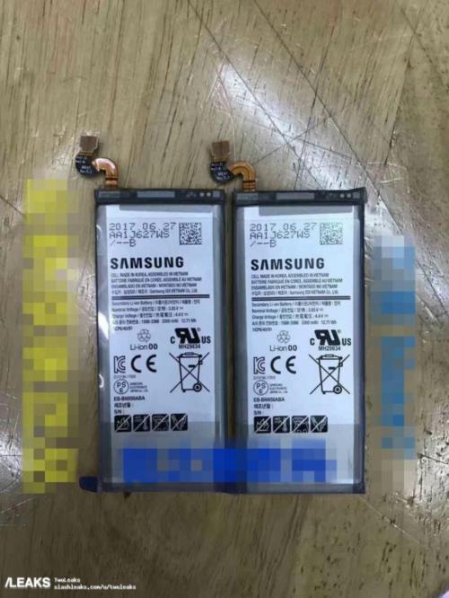 batería Samsung Galaxy Note 8