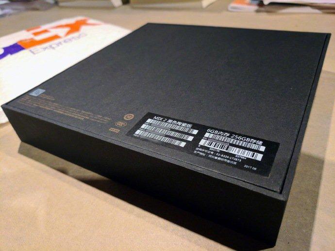 Unboxing Xiaomi Mi MIX 2
