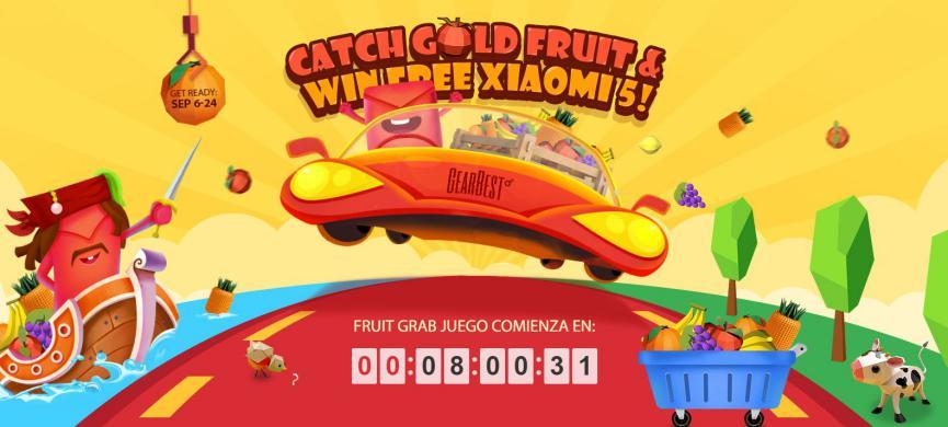 jugar y Ganar teléfonos móviles Android con lluvia de frutas